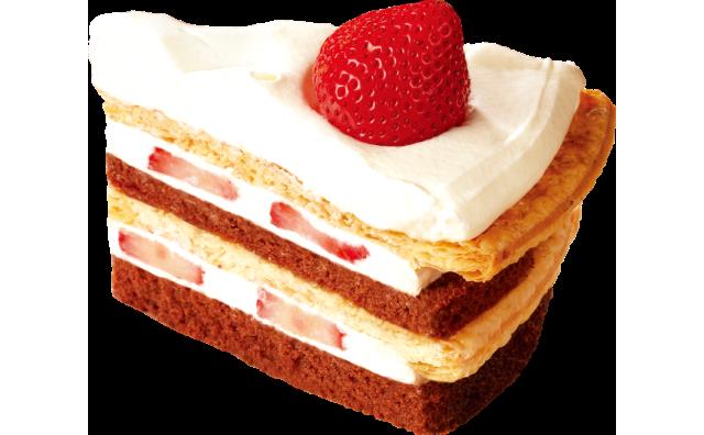 strawberry-quartet-cake