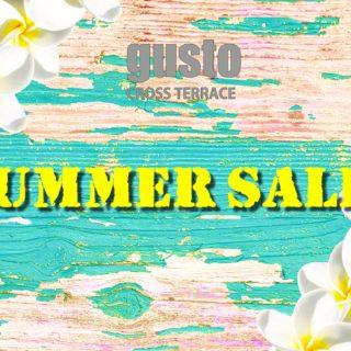 【gusto】SUMMER SALE